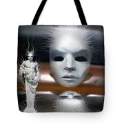 Beauty Is Invisible To The Eye. Tote Bag