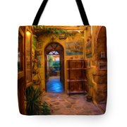 Beauty Of Greek Architechture Tote Bag