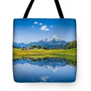 Beauty Of The Alps Tote Bag