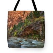 Beauty Of The Narrows Tote Bag