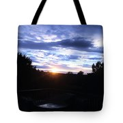 Somewhere The Sun Is Shining Tote Bag