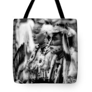 Pow Wow Beauty Of The Past Tote Bag