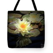 Beauty Of The Water Lily Tote Bag