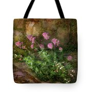 Beauty On An Old Stone Wall Tote Bag