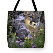 Beauty On The Mountain Tote Bag
