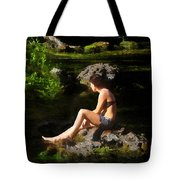 Beauty On The Rocks Tote Bag