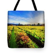 Beauty Over The Vineyard Tote Bag