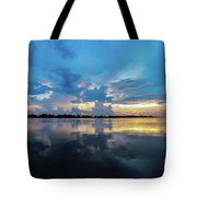 Beauty Over The Water Tote Bag