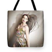 Beauty Salon Pinup Tote Bag