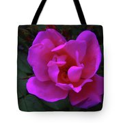 Beauty Unfurls Tote Bag