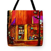 Beautys Luncheonette  Tote Bag