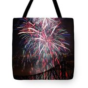 Beaver County Fireworks  Tote Bag