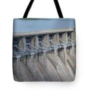 Beaver Dam Spillway Gates Tote Bag