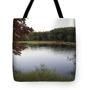 Beaver Lake With A Gentle Breeze Tote Bag