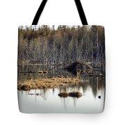 Beaver Residence Tote Bag