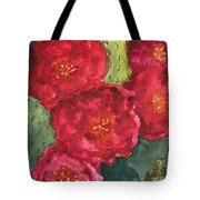 Beavertail Cactus Tote Bag