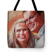 Becky And Chris Tote Bag