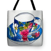 Becky's Teacup Tote Bag