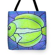 Beckys Yellow Tropical Fish Tote Bag