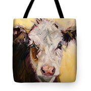 Bed Head Cow Tote Bag