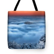 Bed Of Clouds Tote Bag