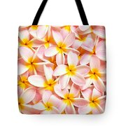 Bed Of Light Tote Bag