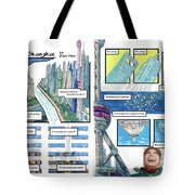 Bedding Shanghai, 2-page Spread  Tote Bag