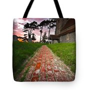 Beddingham Chruch Tote Bag