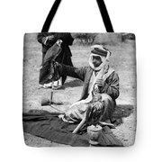 Bedouin Falconer, C1910 Tote Bag