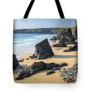 Bedruthan Steps, Cornwall Tote Bag