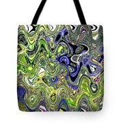 Bedtime Color Abstract Tote Bag