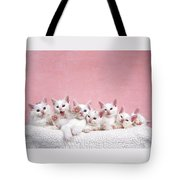 Bedtime Kittens I'm Not Tired Mom Tote Bag