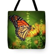 Bee And Butterfly Tote Bag