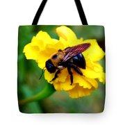 Bee And Marigold Tote Bag
