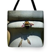 Bee And My Shadow Tote Bag