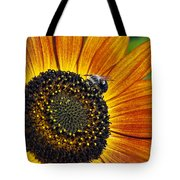 Bee And Sunflower. Tote Bag