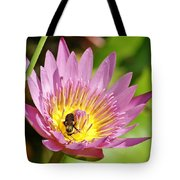 Bee And The Lily Tote Bag