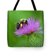 Bee And Thistle Tote Bag