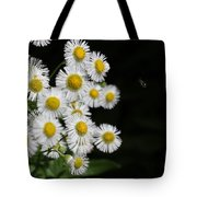 Bee And Wildflower  Tote Bag