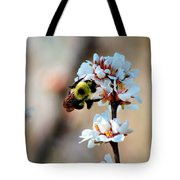Bee Blossom Tote Bag