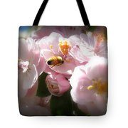 Bee Blossoms 2 Tote Bag