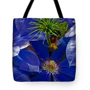 Bee Blues Tote Bag