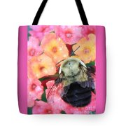 Bee Card Tote Bag