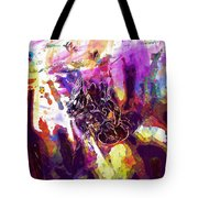Bee Close Insect Flower  Tote Bag