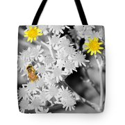Bee Colored Tote Bag