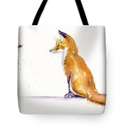 Bee Confronted Tote Bag