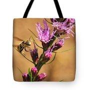 Bee In Flight Tote Bag