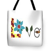 Bee Love Tote Bag