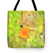 Bee My Flower Tote Bag
