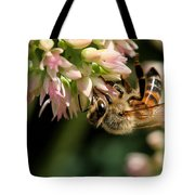 Bee On Flower 1 Tote Bag